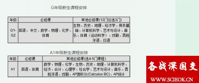 深国交的IGCSE/ALevel课程快速了解系列之2:必修课与选修课