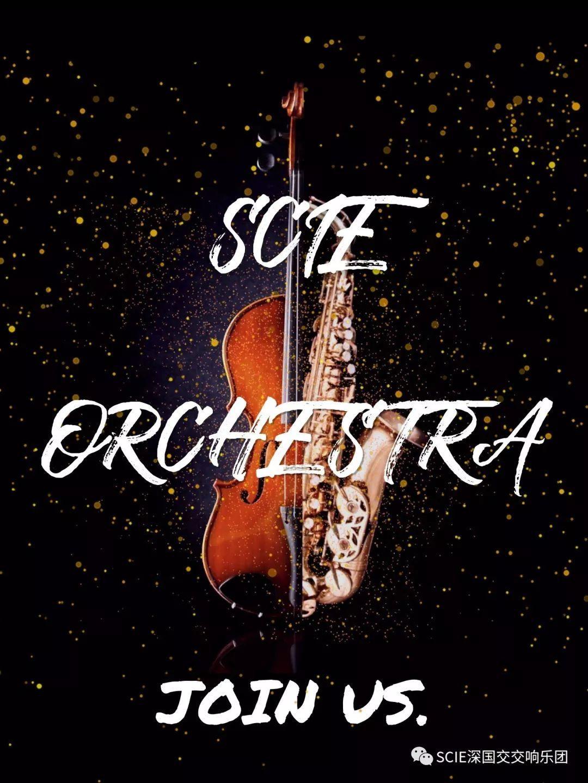 SCIE Orchestra|寻找属于你与音乐的璀璨 学在国交 深国交交响社 第2张