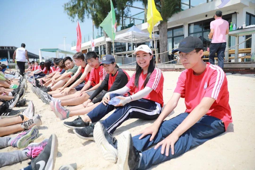 2019年深国交G1年级校外海边拓展活动结束,让青春发光  深国交 学在国交 深圳国际交流学院 户外 Winnie 第57张