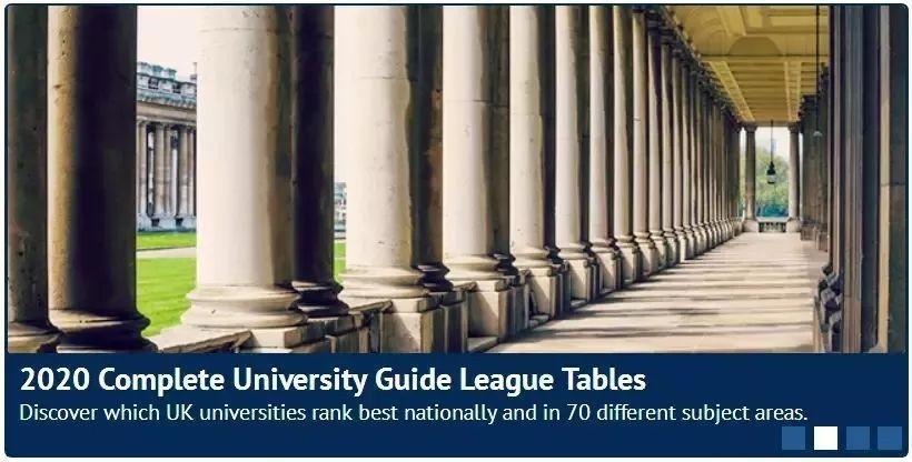 2020英国会计与金融专业最好的大学出炉!格拉斯哥大学有考虑过吗?