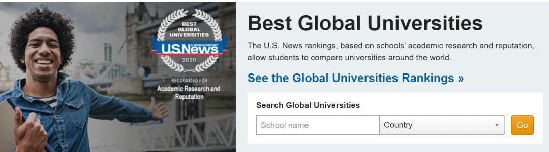 10所同时霸占全球四大排名榜单TOP20,公认的超难申+确实牛大学你造吗