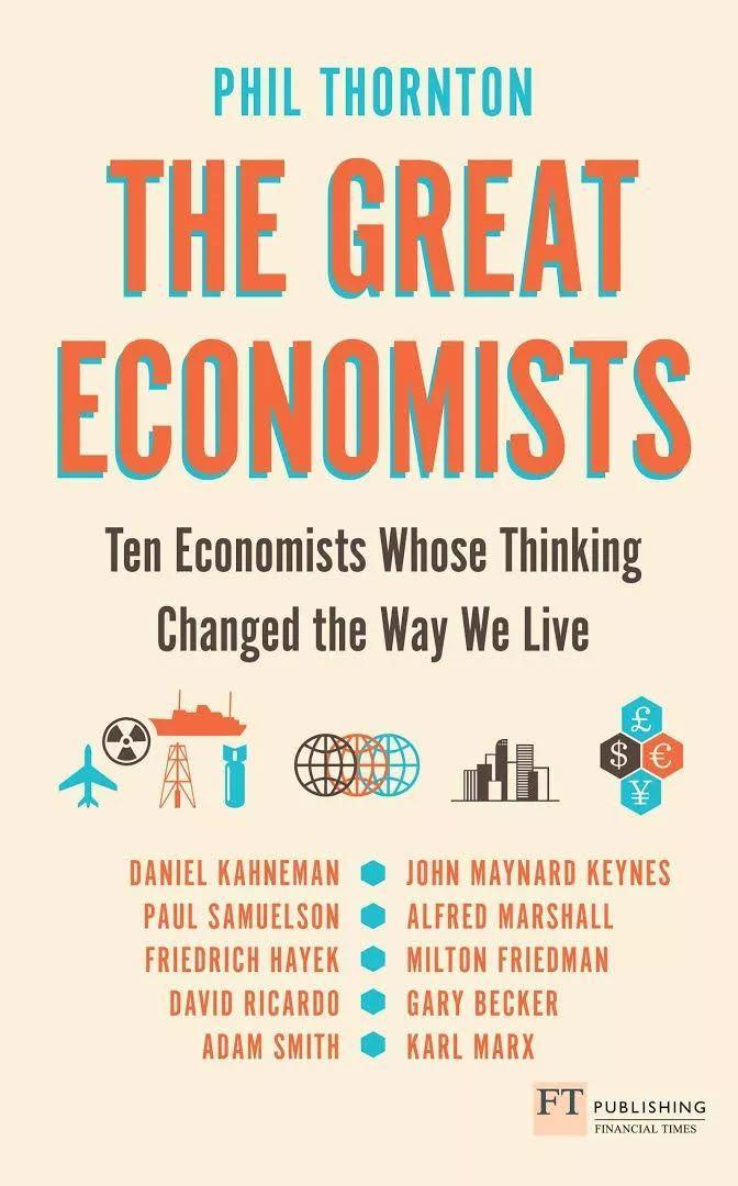 书单| A-level经济学名师推荐:经济学延伸阅读的必备书籍!  学习资料下载 PPE 第9张