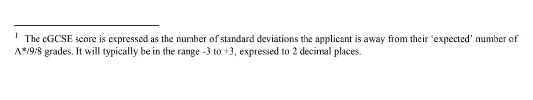 牛津首次公开录取公式,IGCSE成绩直接影响申请结果  数据 留学 牛津大学 PPE 第6张