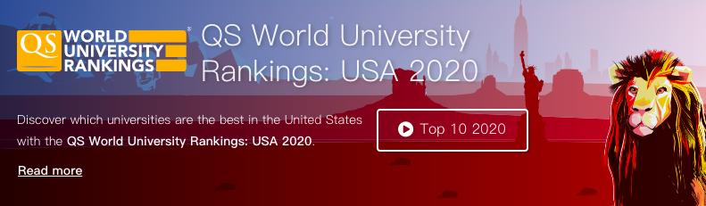 QS通常只发布世界大学排名,今年却首次发布美国大学排名!