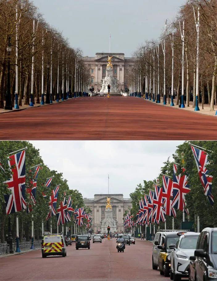 50张英国疫情前后的同角度对比照片,展示健康之重要平安之宝贵  疫情相关 第11张