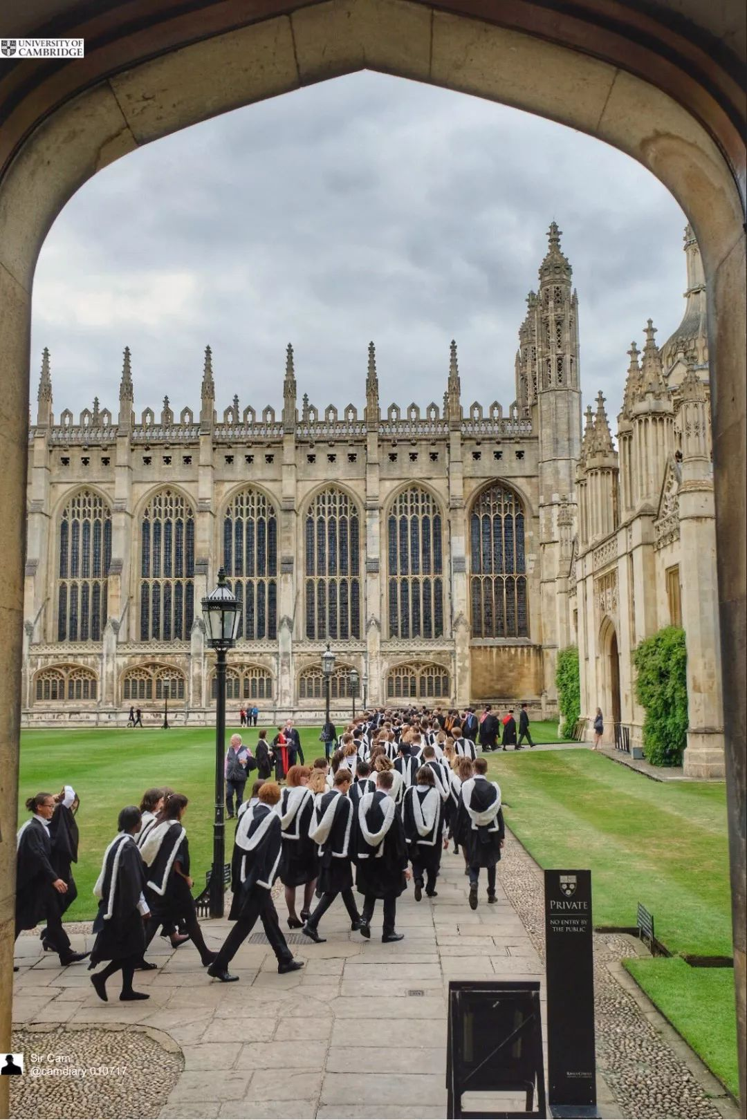 剑桥预计2020年的毕业典礼将推迟到2021年举行