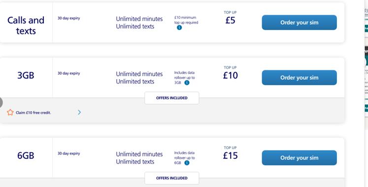 英国留学选择哪家的手机卡会比较合算呢?  英国留学 留学 第5张