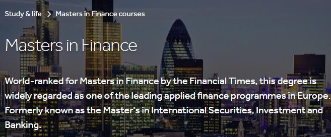 全球金融硕士排名发布:英国13所商学院霸榜!  数据 英国大学 第9张