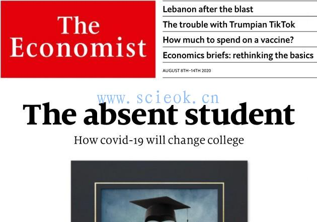 The Economist|《经济学人》杂志电子版英文版(2020.08.08)
