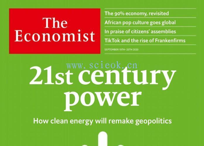The Economist|《经济学人》杂志电子版英文版(2020.09.19)