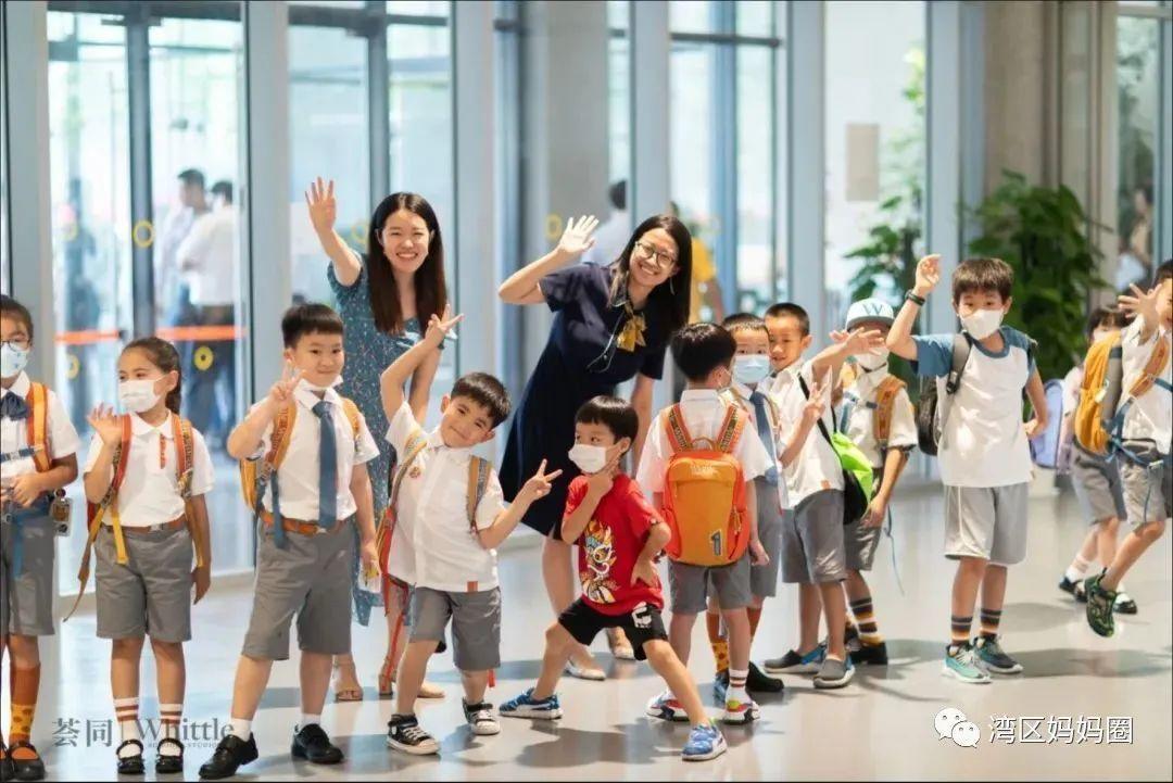 深圳237.4万师生开学了!比较一下国际学校的开学典礼  深圳国际交流学院 第9张