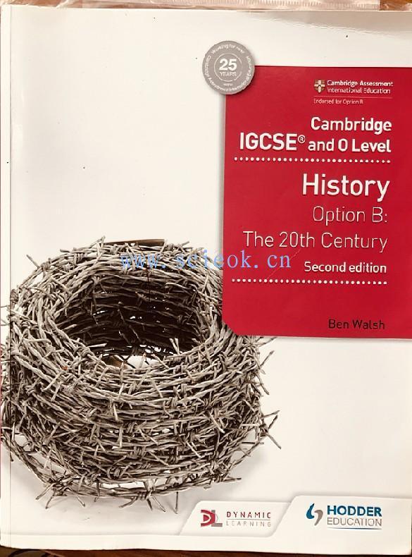 Cambridge IGCSE and O Level History 2nd Edition (英语)