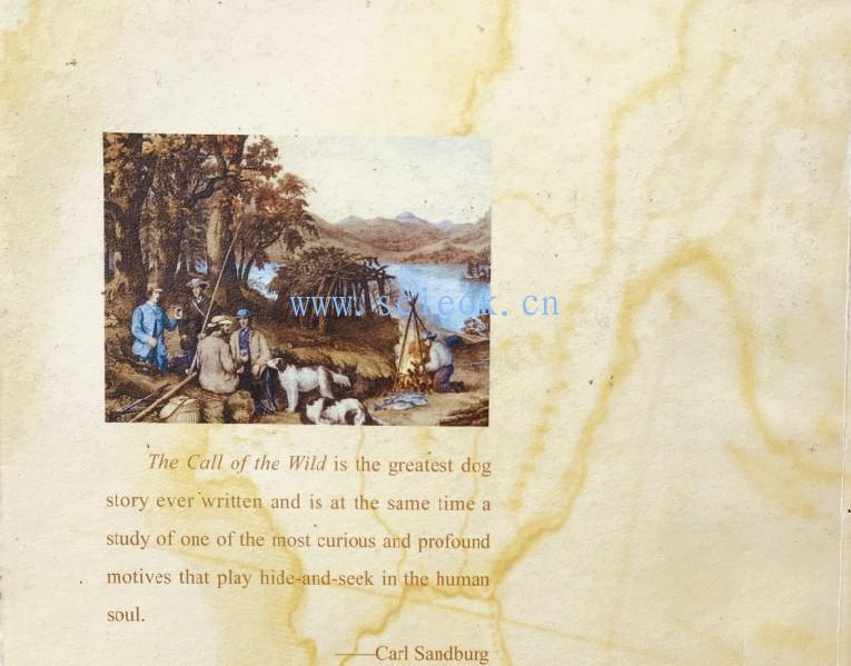 The Call of the Wild -- Jack London 杰克·伦敦《野性的呼唤》  二手英文原版 第4张