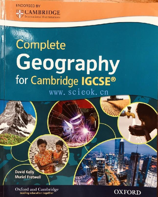 Complete Geography for Cambridge IGCSE(含CD) --  Kelly, David