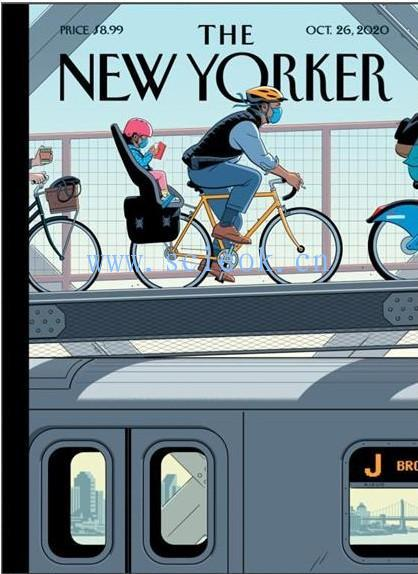 《纽约客》杂志|The New Yorker 电子杂志英文版(2020.10.26)  The Yorker(纽约客) 英文原版杂志 第1张