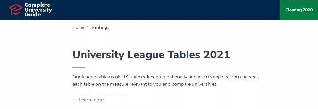 英国大学排名各有侧重,究竟应该该看哪一个?  数据 排名 TIMES排名 第3张