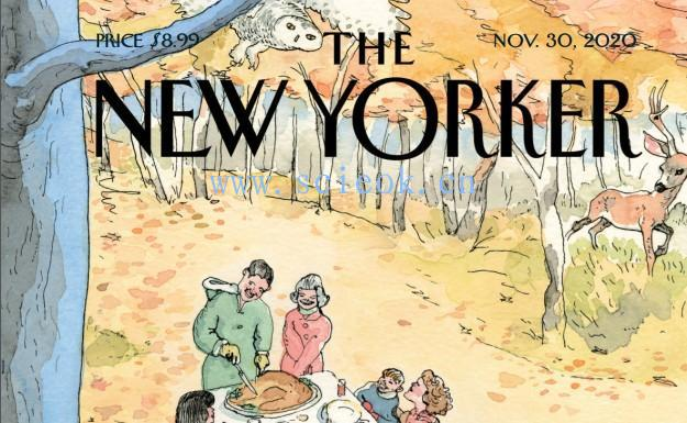 《纽约客》杂志|The New Yorker 电子杂志英文版(2020.11.30)  The Yorker(纽约客) 英文原版杂志 第1张