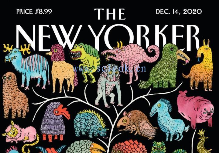 《纽约客》杂志|The New Yorker 电子杂志英文版(2020.12.14)  The Yorker(纽约客) 英文原版杂志 第1张