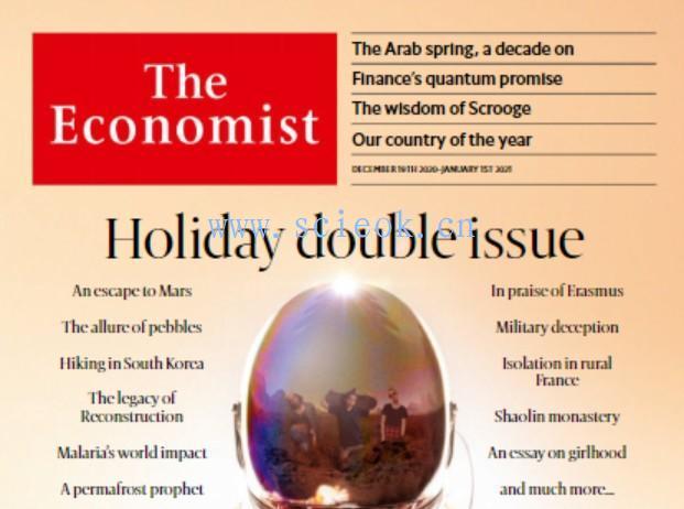 《经济学人》杂志|The Economist电子版英文版(2020.12.19)  英文原版杂志 The Economist 经济学人电子版 第1张