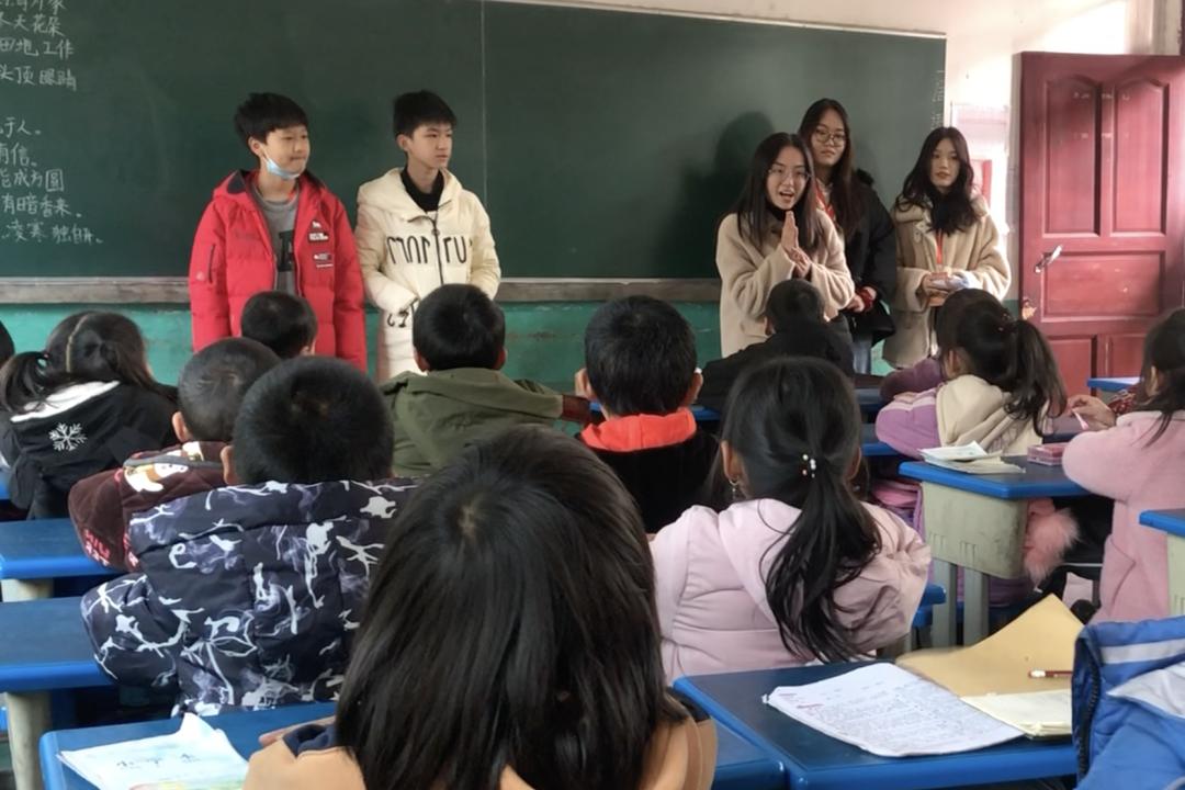 深国交游子社:平安村里的平安小学,今天来了深国交的一群小老师  深圳国际交流学院 第10张