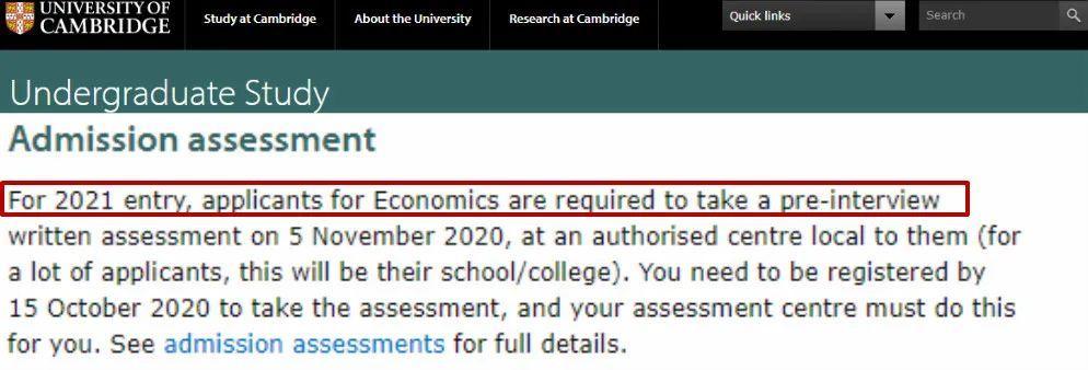 剑桥大学取消2021部分面试,学生可直接拿offer!