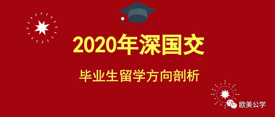 2020年深国交毕业生总计为240人,都去了哪些世界名校了?  深国交 深圳国际交流学院 第1张