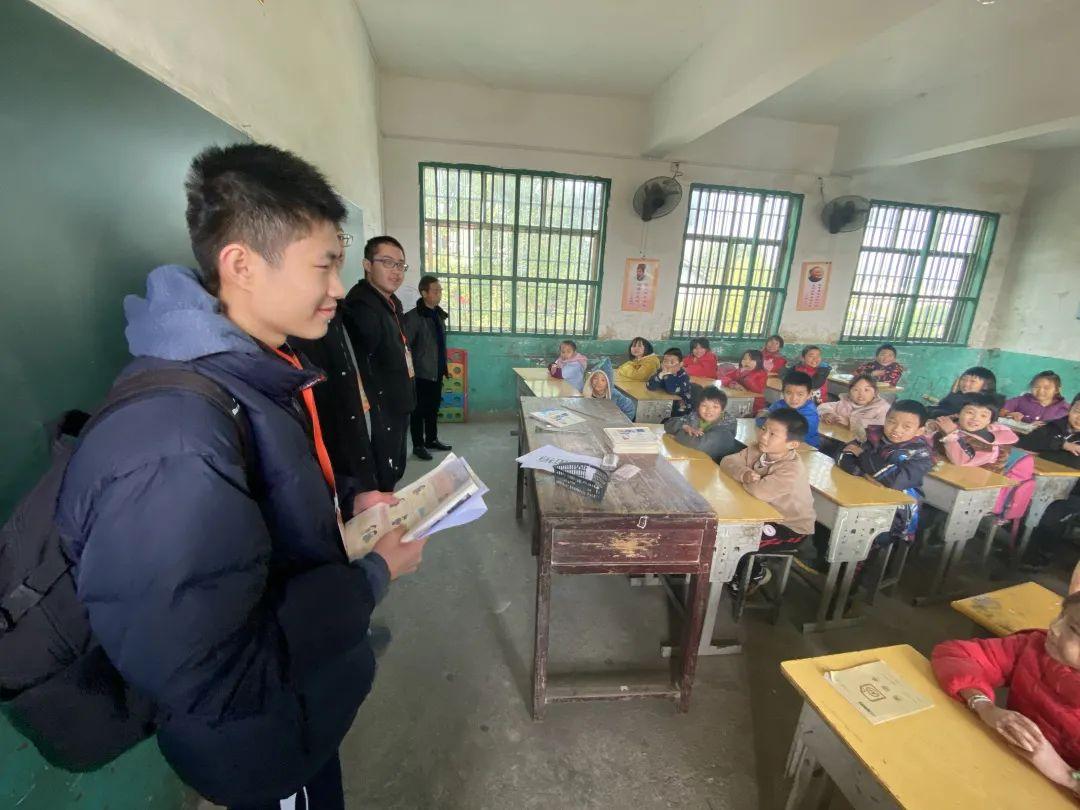 深国交游子社:平安村里的平安小学,今天来了深国交的一群小老师  深圳国际交流学院 第9张