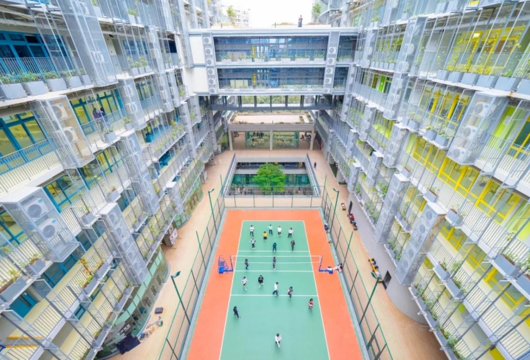 """深圳""""城市绿洲""""的学生可直升深国交,会比考进深国交的生源差吗?"""