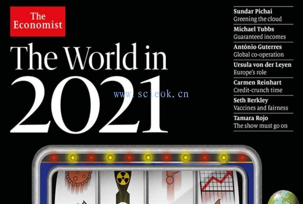 《经济学人》杂志|The Economist电子版英文版 the world in 2021  英文原版杂志 The Economist 经济学人电子版 第1张