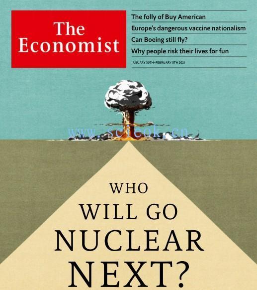 The Economist - 2021.01.30《经济学人》杂志英文版  英文原版杂志 经济学人电子版 第1张