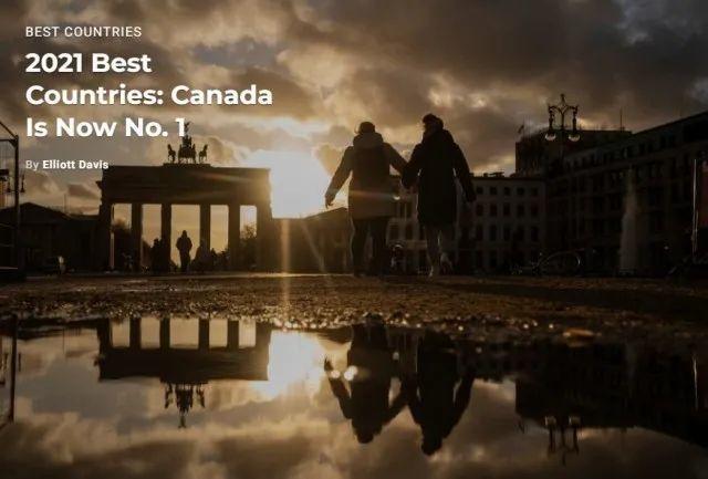 2021年全球最佳国家排名:加拿大首次夺冠!中国名列第17  数据 第4张