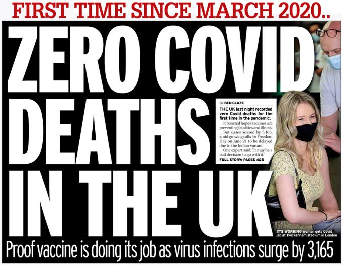英国0新增死亡!伦敦1.5万年轻人抢先打新冠疫苗!排队现场堪比音乐节!  英国留学 留学 第2张