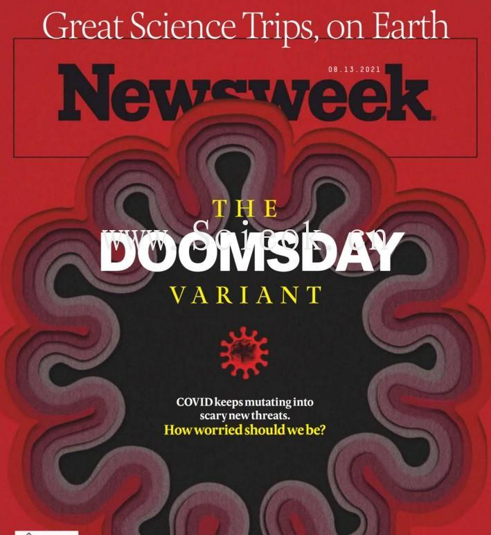 Newsweek-20210813《新闻周刊》杂志国际版(美国版)