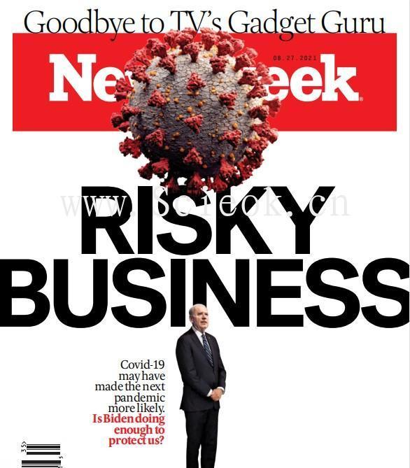 Newsweek-20210827《新闻周刊》杂志国际版(美国版)  英文原版杂志 newsweek 新闻周刊电子版 第1张
