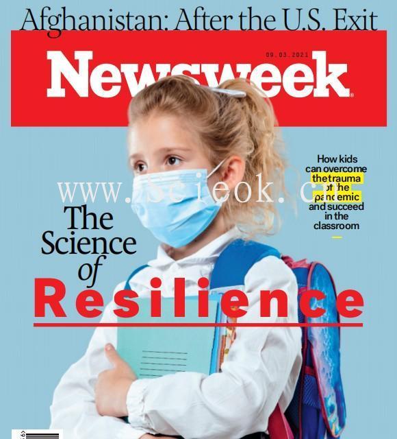 Newsweek-20210903《新闻周刊》杂志国际版(美国版)  英文原版杂志 newsweek 新闻周刊电子版 第1张