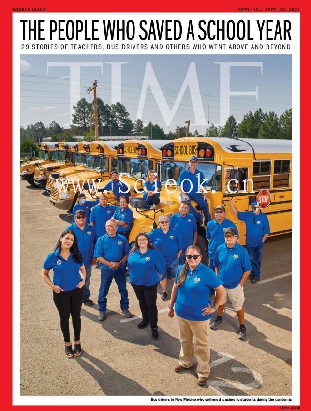 Time - 2021.09.13《时代周刊》电子杂志(美国版)  英文原版杂志 时代周刊电子版 第1张