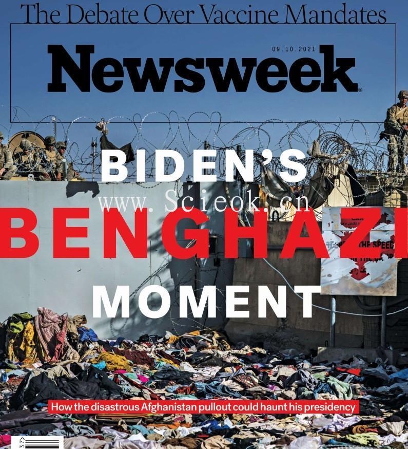 Newsweek-20210910《新闻周刊》杂志国际版(美国版)