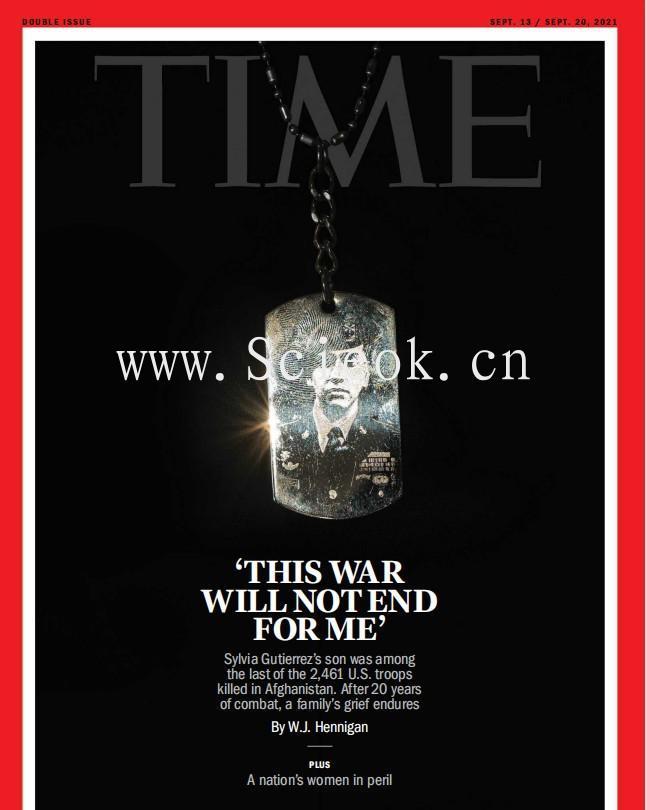 Time - 2021.09.13《时代周刊》电子杂志(国际版)  英文原版杂志 时代周刊电子版 第1张