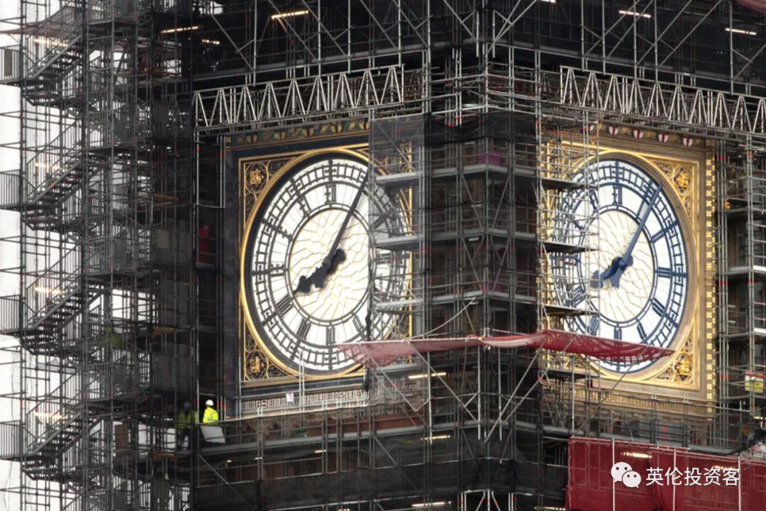 修了4年,伦敦大本钟回归在即!以后又可以拍照打卡了  英国留学 第14张