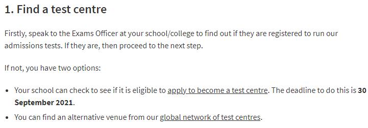 2021年英国本科要求BMAT、MAT、TSA、ENGAA成绩的一些注意事项  英国留学 第5张