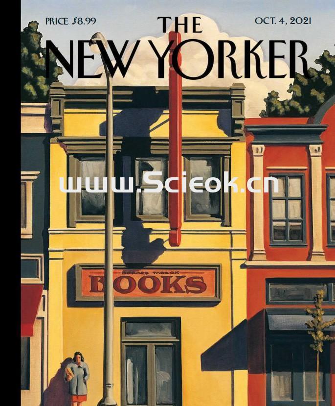 The New Yorker|2021.10.04《纽约客》电子杂志英文版  Yorker(纽约客) 英文原版杂志 第1张