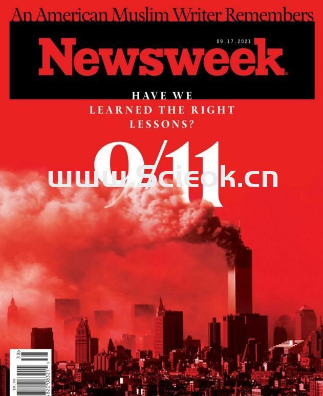 Newsweek-20210917《新闻周刊》杂志国际版(美国版)  英文原版杂志 newsweek 新闻周刊电子版 第1张