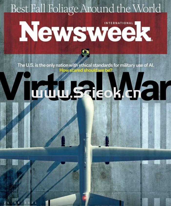 Newsweek-20210924《新闻周刊》杂志国际版(国际版)  英文原版杂志 newsweek 新闻周刊电子版 第1张
