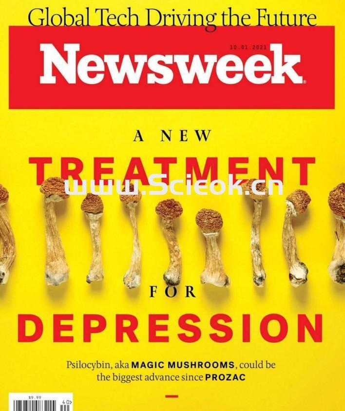 Newsweek-20211001《新闻周刊》杂志国际版(美国版)  英文原版杂志 newsweek 新闻周刊电子版 第1张