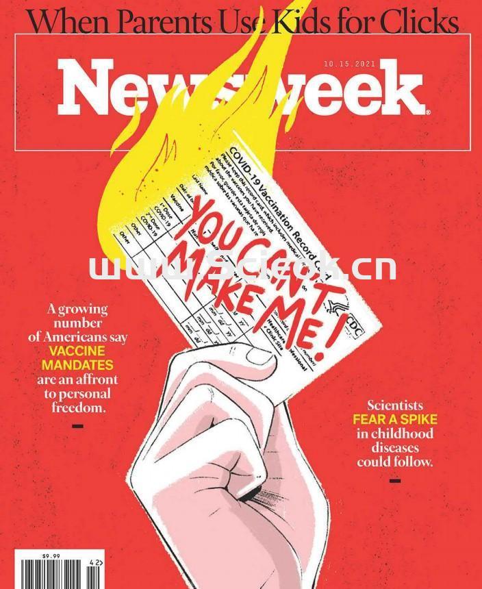 Newsweek-20211015《新闻周刊》杂志(美国版)