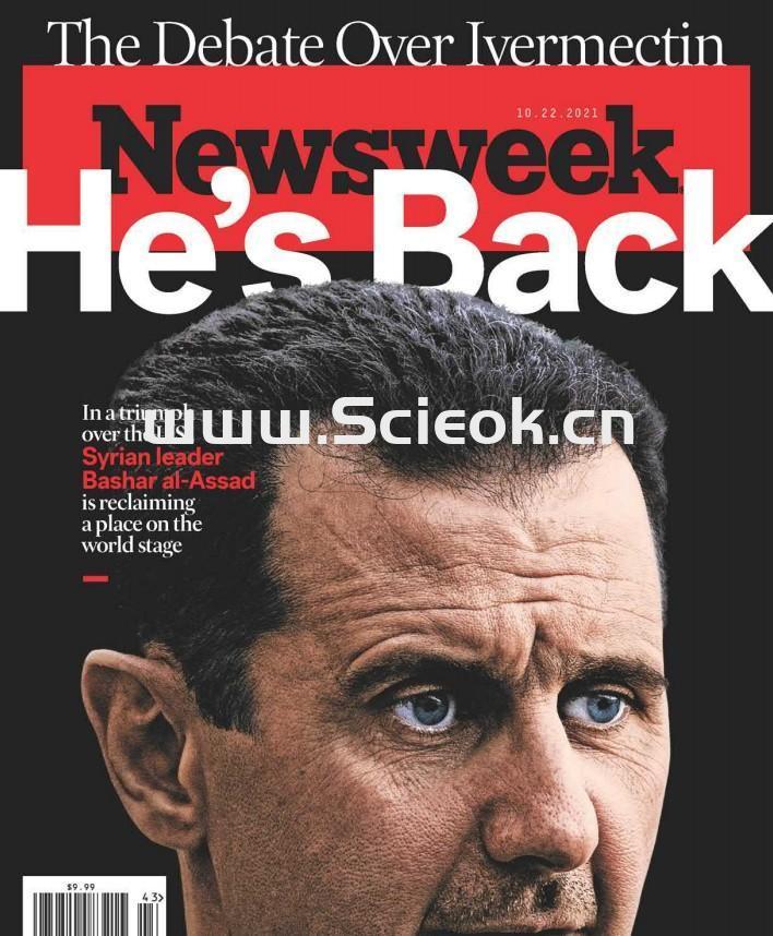 Newsweek-20211022《新闻周刊》杂志(美国版)