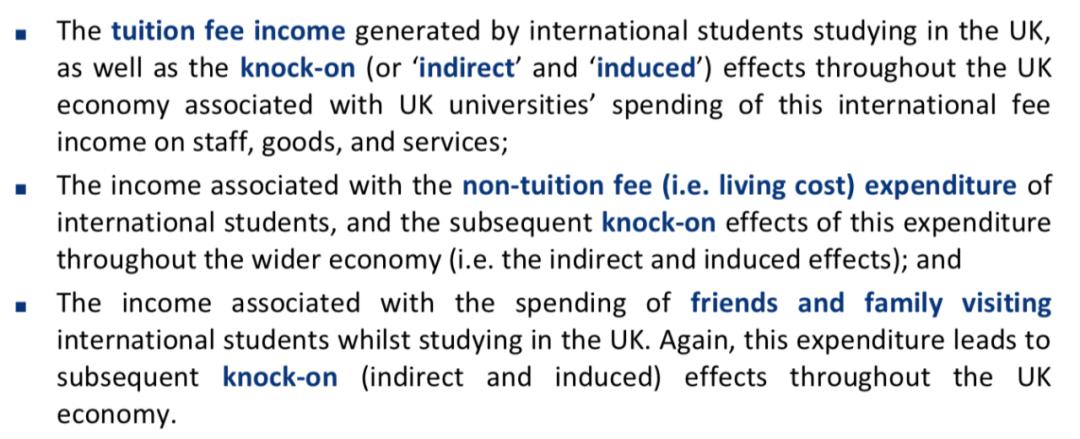 留学生给英国带来了20%的经济上涨收益,中国留学生贡献最多  英国留学 数据 第5张